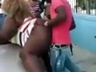 Black ghetto Bbw Huge Ass Fucked In Public