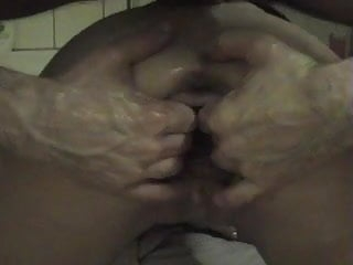 Klara la chienne fist vaginal dilatation