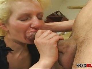 Threesome blowjob gif