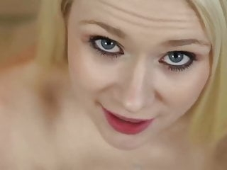 Blonde in POV fellatio and penetration