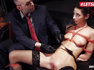 LETSDOEIT - Deutsche Babe Clamped & Turned into a Sex Slave