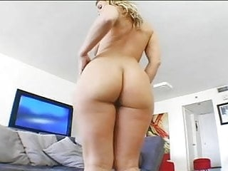 Blonde sexy Milf gets banged in her big butt